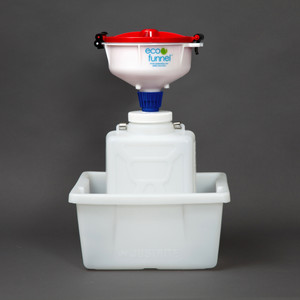 "8"" ECO Funnel® System, 9 Liter, 100mm, Secondary Container"