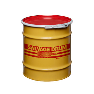 8 gal Salvage Drum, Bolt Ring Closure