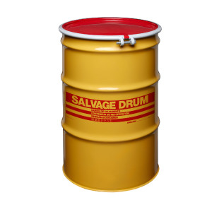 55 gal Salvage Drum, Bolt Ring Closure