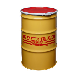 55 gal Salvage Drum, Lever lock Ring Closure