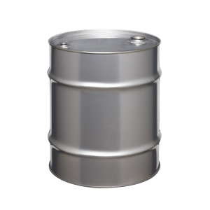 Stainless Steel Drum, 20 gallon, Tight Head