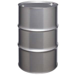 Stainless Steel Drum, 55 gallon, Tight Head