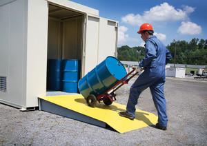 Outdoor Storage Locker, Non-Combustible, 6-Drum