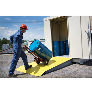Justrite® Accessory, Steel Loading Ramp-4 thru 16-Drum