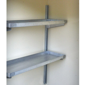 Justrite® Accessory, Shelving, 2 Tier-2 and 4-Drum