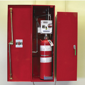Justrite® Fire Suppression, Standard-4 thru 16-Drum