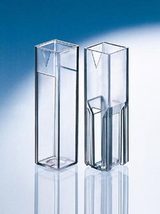 Cuvette, Polystyrene, Semi-Micro, 1.5mL-3.0mL, case/100