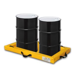 "Eagle® Quik-Deploy SpillNest Spill Containment, 2' x 4' x 4"", 20 Gal, Yellow"