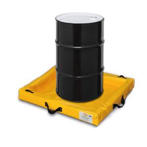 "Eagle® Quik-Deploy SpillNest Spill Containment, 3' x 3' x 4"", 22.5 Gal, Yellow"