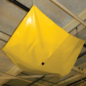 Eagle® DripNest Ceiling Water Leak Diverter, 3' x 3', 3 GPM, Yellow