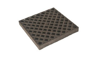 "Replacement Polyethylene Grate (24""L x 24""W x 2""H)"