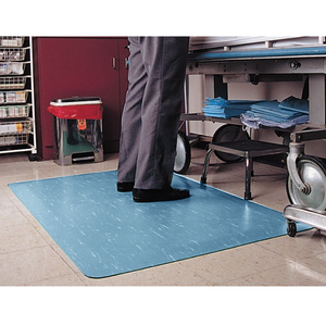 "Anti-Fatigue Hospital Clean Room Mat, 7/8"" thick, 3' x 4'"