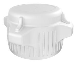 VersaCap Screw Cap, 53B, Standard Closed Top Cap, pack/2