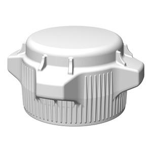 VersaCap Screw Cap, 83B, Standard Closed Top Cap, pack/2
