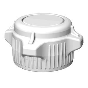 VersaCap® Screw Cap, 53B, Open Cap with Closed Top Adapter