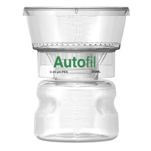 Autofil Bottle Top Vacuum Filter Assembly, 250ml, 0.45um PES, Case/12