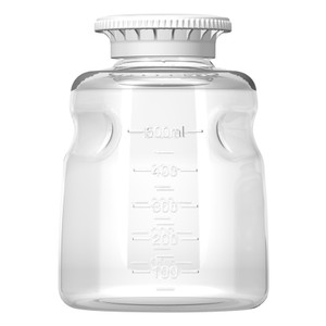 Reservoir Media Bottles for Autofil Filters, Sterile, 500ml, Polystyrene, Case/24