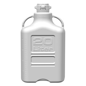 EZgrip Carboy, HDPE, 20 Liter with 80mm VersaCap