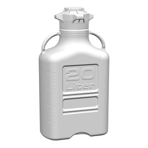 EZgrip Carboy, Polypropylene, 20 Liter with 120mm VersaCap