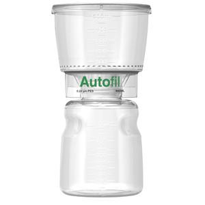 Autofil Bottle Top Vacuum Filter Assembly, 500ml, 0.2um PES, Case/12