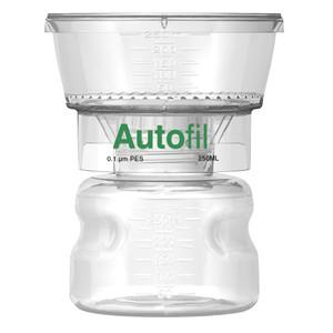 Autofil Bottle Top Vacuum Filter Assembly, 250ml, 0.1um PES, Case/12