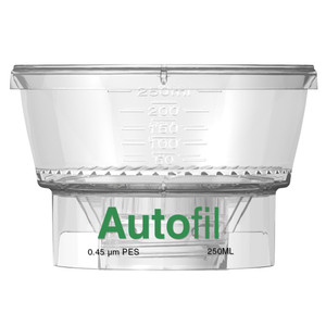 Autofil Funnel Only, 250ml, 0.45um PES Case/24
