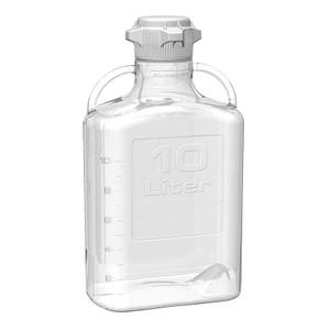 EZgrip Carboy, Clear PETG, 10 Liter with 80mm VersaCap