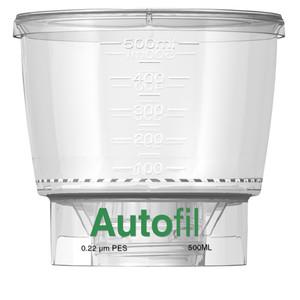 Autofil Funnel Only, 500ml, 0.2um PES Case/24