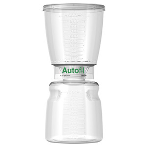 Autofil Bottle Top Vacuum Filter Assembly, 1000ml, 0.2um PES, Case/12
