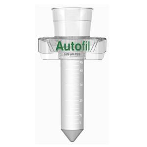 Autofil 50ml Sterile 0.2um High Flow PES Vacuum Filter Centrifuge Tube, Case/24