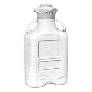 EZgrip Carboy, Clear PETG, 20 Liter with 120mm VersaCap