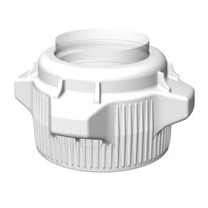 VersaCap Screw Cap, 83B, EZ-Top, Open Top Cap with Closed Adapter