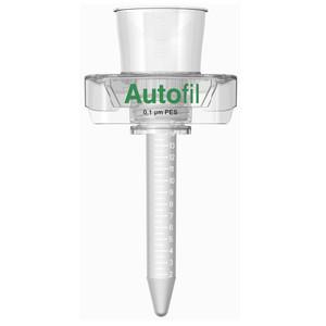 Autofil 15mL Sterile 0.1um High Flow PES Vacuum Filter Centrifuge Tube, Case/24