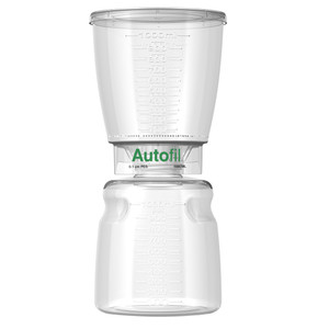 Autofil Bottle Top Vacuum Filter Assembly, 1000mL, 0.1um PES, Case/12