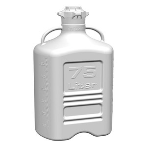 EZgrip Carboy, HDPE, 75 liter with 120mm VersaCap