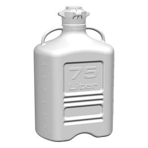 EZgrip Carboy, HDPE, 75 liter with 120mm VersaCap