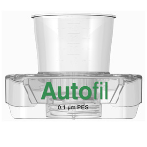 Autofil® 50mL Sterile 0.1um High Flow PES Vacuum Filter Funnel Only, case/48