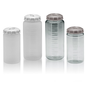 Centrifuge Bottles, 500mL, PC, Seal Caps, Non-Sterile, Autofil®, case/24