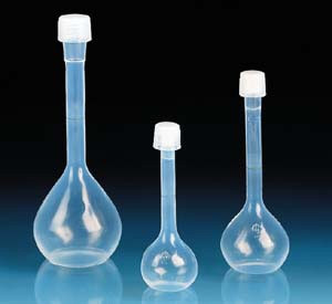Volumetric Flask, Perfluoxy (PFA) Class A, 100mL