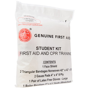 Student CPR & Training Kit, case/100