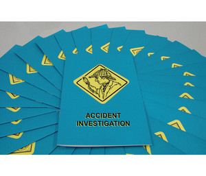 Safety Training: Accident Investigation Booklet, pack/15