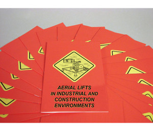 Safety Training: Aerial Lifts Employee Booklets