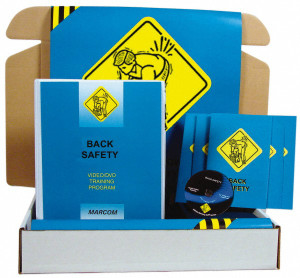 Safety Training: Back Safety Meeting Kit