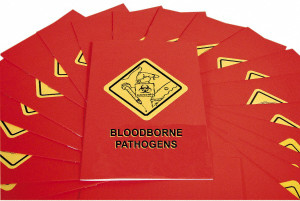 Safety Training: Bloodborne Pathogens Booklet, pack/15