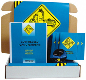 Safety Training: Compressed Gas Cylinders Safety Meeting Kit