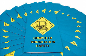 Safety Training: Computer Workstation Safety Employee Booklet, pack/15