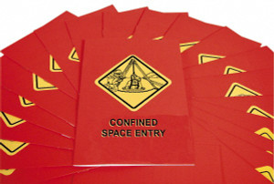 Safety Training: Confined Space Entry Booklet, pack/15