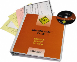 Safety Training: HAZWOPER Confined Space Entry DVD Program