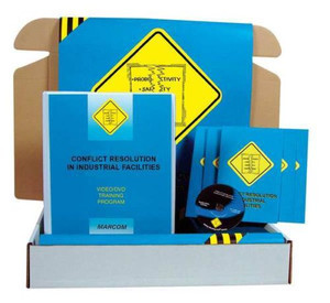 Safety Training: Conflict Resolution in Industrial Facilities Safety Meeting Kit