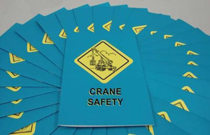 Safety Training: Crane Safety Employee Booklet, pack/15